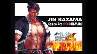 getlinkyoutube.com-Jin Kazama Best Juggles Hon-maru tribute Tekken 4