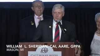 William L. Sheridan, CAI, AARE, GPPA - 2014 NAA Hall of Fame