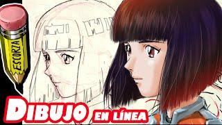 getlinkyoutube.com-dibuja un angulo cerrado de rostro tipo manga