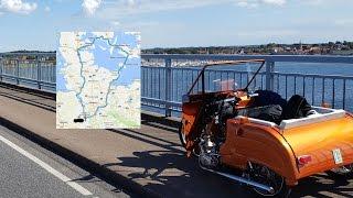 getlinkyoutube.com-Simson Duo auf Tour 700km in 7 Tagen nach Dänemark