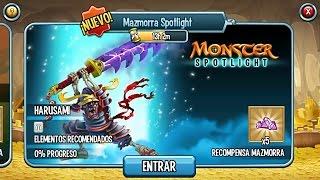 getlinkyoutube.com-Monster Legends - Mazmorra Spotlight (Harusami)