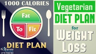getlinkyoutube.com-How to lose weight fast in 7 - 10 days | vegan diet chart for weight loss | Fitness Rockers