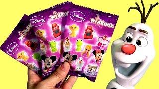 getlinkyoutube.com-Disney Wikkeez Blind Bags Surprise Mack Cars 2 Frozen Olaf Phineas Ferb Luigi Learn to Count 1-2-3