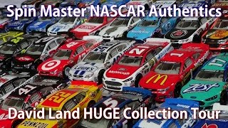 getlinkyoutube.com-HUGE NASCAR Authentics Diecast Collection Tour