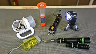 getlinkyoutube.com-9 Flashlight Gadgets put to the Test