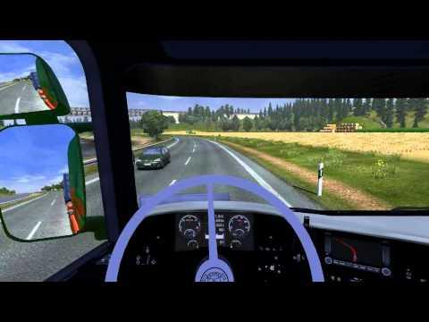 Euro Truck Simulator 2 Scania Magdeburk - Rostock