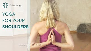 getlinkyoutube.com-Yoga for Opening the Shoulders
