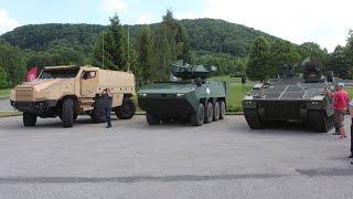 getlinkyoutube.com-TATRA Excalibur test drive live demonstration Titus Ascod Pandur II armoured tactical trucks Web TV