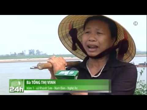 Nghệ An: Cát tặc hoành hành trên sông Lam