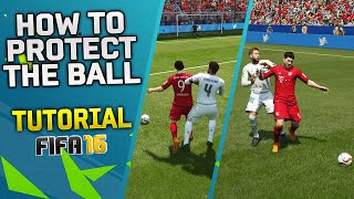 getlinkyoutube.com-FIFA 16 TRICK - HOW TO PROTECT THE BALL TUTORIAL & HOW TO PUSH OPPONENTS IN FIFA 16 / TIPS & TRICKS