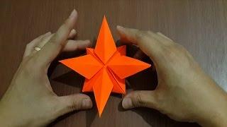getlinkyoutube.com-Tutorial Cara Membuat Origami Bintang Kejora