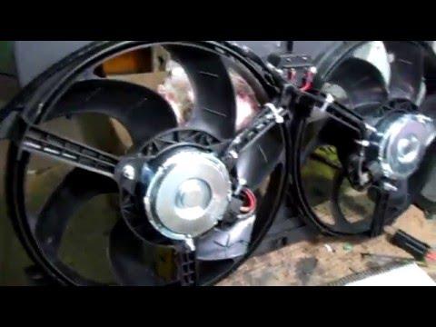 Установка электровентиляторов на бмв Е39,часть 1