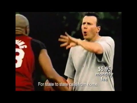 Paul Reiser Does the Basketball to Alonzo Mourning