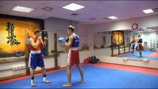 getlinkyoutube.com-Индивидуальная тренировка по Боксу в Спортзале №1