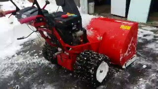 "getlinkyoutube.com-The BIGGEST snow blower in Canada! Troy Bilt 45"""