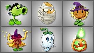 getlinkyoutube.com-Plants Vs Zombies 2 Las Plantas de Halloween Patio de la Condenación Parte 3