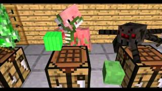 getlinkyoutube.com-Top 10 Animaciones de Minecraft