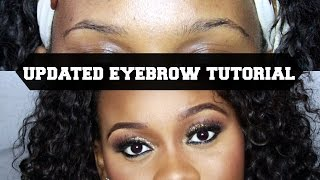 My Updated Eyebrow Tutorial