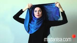 getlinkyoutube.com-Modanisa.com - Şal Bağlama Modelleri/ Bayram Stili