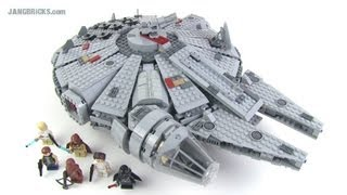 getlinkyoutube.com-LEGO Star Wars Millennium Falcon 7965 set Review!