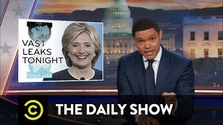 getlinkyoutube.com-The Daily Show - More WikiLeaks Revelations About Hillary Clinton