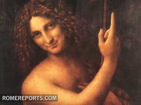 Leonardo da Vinci�s St  John the Baptist  From Paris to Rome
