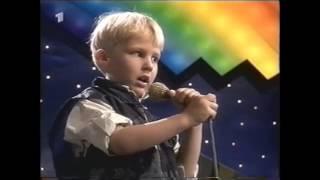 Julian bei Kinderquatsch mit Michael