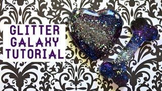 getlinkyoutube.com-✾Resin Tutorial: Glitter Galaxies