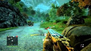 getlinkyoutube.com-Far Cry 4 - Elephant Gun vs. Rhinos