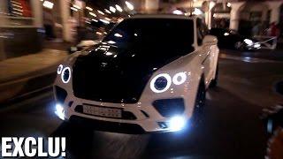 getlinkyoutube.com-FIRST Mansory Bentley Bentayga on the road!