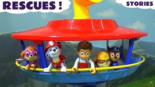 getlinkyoutube.com-Paw Patrol and Thomas and Friends Rescues - Toy Stories with Peppa Pig and Mashems ToyTrains4u