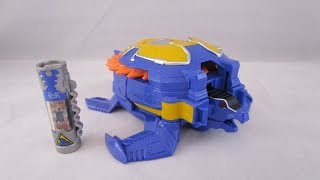 getlinkyoutube.com-Archelon Zord with Charger Review (Power Rangers Dino Super Charge)