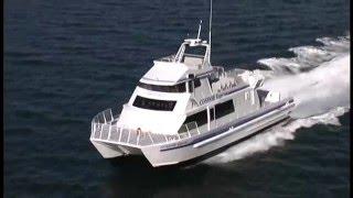 getlinkyoutube.com-High Speed Catamaran Whale Watch Cruise Boat