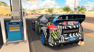 Forza Horizon 3 - Ford Gymkhana 9 Focus RS RX 2016 - Gameplay HD 1080p
