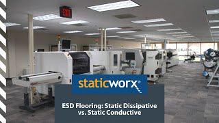 Static Dissipative vs. Static Conductive:  ESD Floors