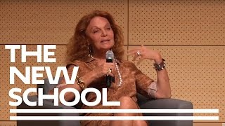getlinkyoutube.com-Diane Von Furstenberg: 40 Years of the Wrap Dress | Parsons School of Design