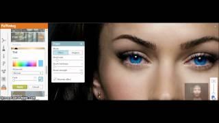 getlinkyoutube.com-Megan Fox Makeover (PicMonkey)