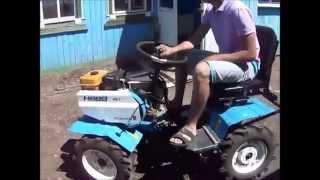 getlinkyoutube.com-Мини трактор Нева МБ 2