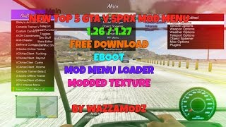 getlinkyoutube.com-★ [GTA V |1.26 | 1.27] TOP 5 Free SPRX Mod Menu + Download (1/2) ★