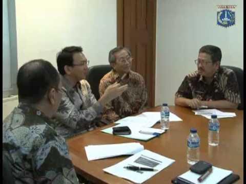 02 Nov 2012 Bpk Wagub Basuki T. Purnama Menerima Kadis ParBud Jkt perihal Kota Tua