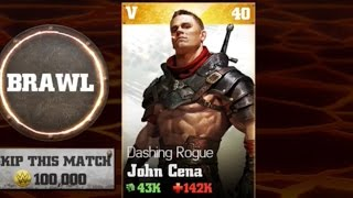 WWE Immortals - Dashing Rogue John Cena Nightmare Battle
