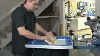 getlinkyoutube.com-Screen Printing Foil Transfer
