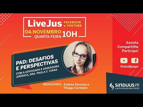 LiveJus sobre PAD