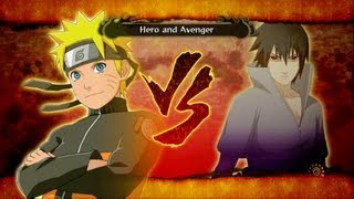 getlinkyoutube.com-Naruto Shippuden: Ultimate Ninja Storm 3: Sasuke vs Naruto Boss Battle