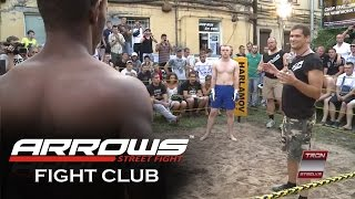 getlinkyoutube.com-Black Lion vs White boy, MMA Fight