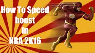 getlinkyoutube.com-NBA 2k16 How to Speed Boost !