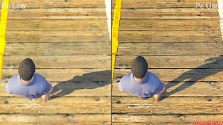 getlinkyoutube.com-GTA 5 Pc Low Vs Pc Ultra Graphics Comparison