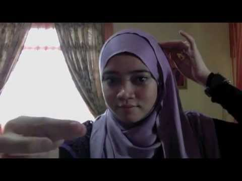 Cara Memakai Jilbab | Model Hana Tajima Inspired