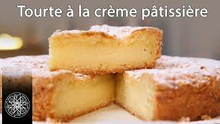 getlinkyoutube.com-Choumicha : Tourte à la crème pâtissière - Gâteau Basque (VF)