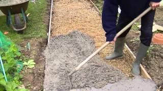 getlinkyoutube.com-Comment faire une dalle en béton - Coulé une dalle en béton extérieur